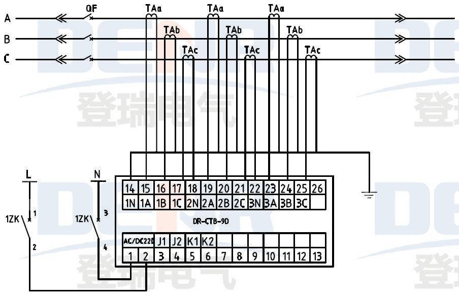 Wiring Diagram Current Transformer : Jlc s current transformer secondary over voltage